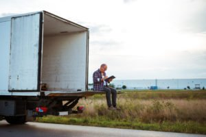 truck driver fills section 179 Form