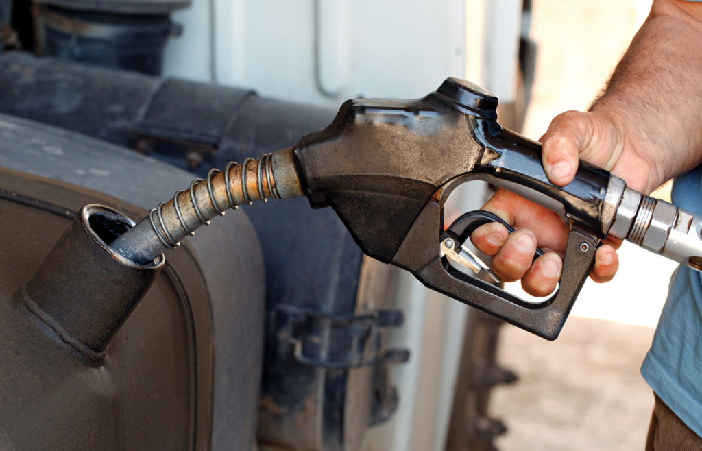 Oil Prices and the Trucking Industry - getting gas