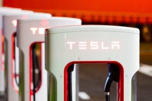 Tesla Electric Semi station