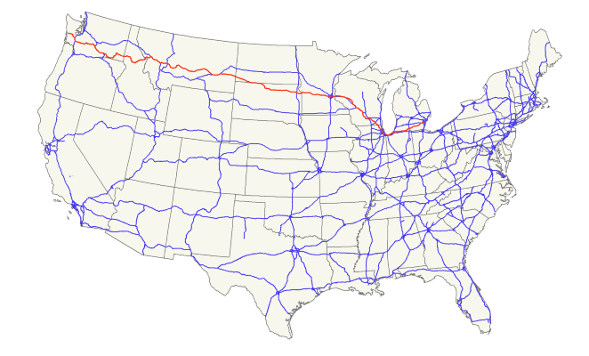 US 12 Map