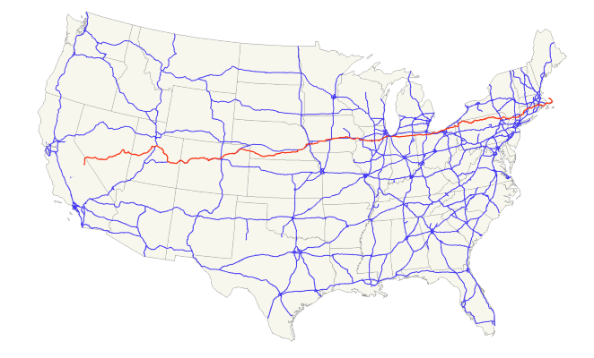 US 6 Map